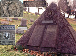 Charles Taze Russell Pyramids & JWs