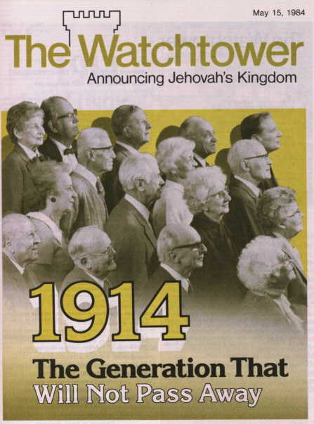 1914 - The Generation That Will Not Pass Away